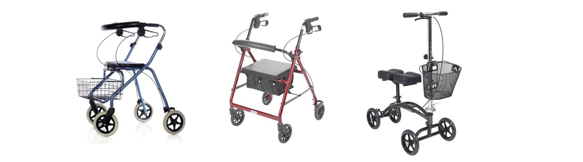 wheeling walkers